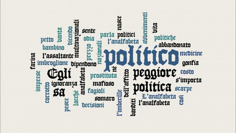 L'analfabeta politico di Bertold Brecht