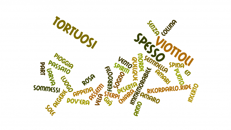 Spesso per viottoli tortuosi di Vittorio Sereni